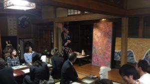 先日参加した、山形村唐沢そば集落にある「そば幸」さんでの新そば会。畳アートとのコラボ企画。